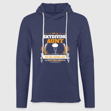 Skiy Diving Aunt Shirt Gift Idea - Light Unisex Sweatshirt Hoodie