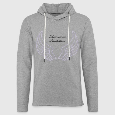There are no Limitations - Light Unisex Sweatshirt Hoodie