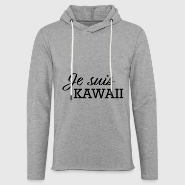KAWAII - Sweat-shirt à capuche léger unisexe