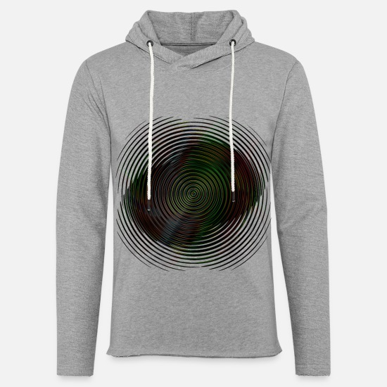 Gift Idea Hoodies & Sweatshirts - Gradient Round Neon - Unisex Sweatshirt Hoodie heather grey