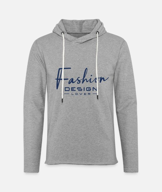 Design Hoodies & Sweatshirts - Fashion fashion fashion designer design fashion design - Unisex Sweatshirt Hoodie heather grey