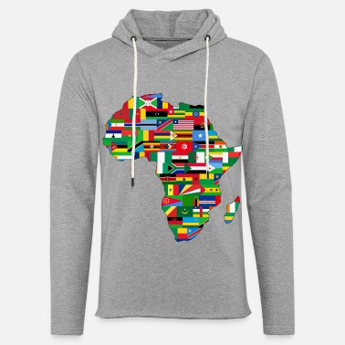 Continent africa collection - Unisex Sweatshirt Hoodie