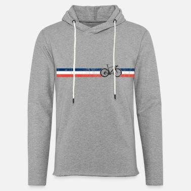 French Flag French Cyclist Flag France Bike Racing Bicyclist - Light Unisex Sweatshirt Hoodie