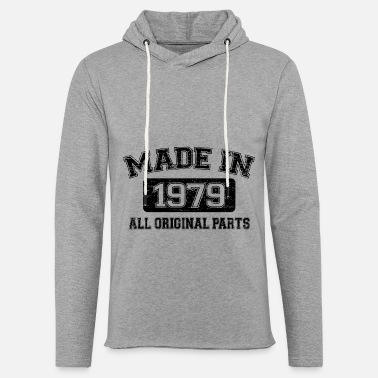 November 40th Birthday Gift Born in 1979 T-Shirt - Light Unisex Sweatshirt Hoodie