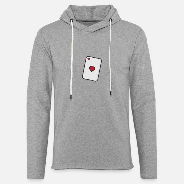 Playing Hearts, Playing card - Unisex Sweatshirt Hoodie