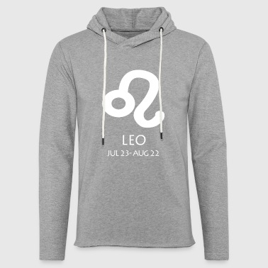 Leo Leo Zodiac Sign - Light Unisex Sweatshirt Hoodie