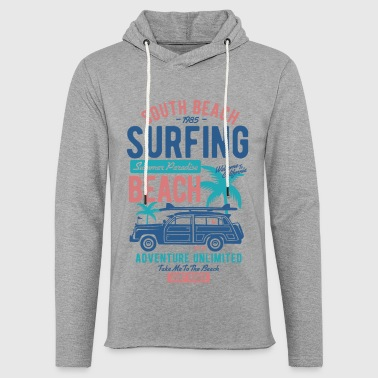 South Beach Surfcamp Summer Paradise Adventure - Lichte hoodie unisex