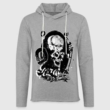 Skull skull bone gift idea - Light Unisex Sweatshirt Hoodie