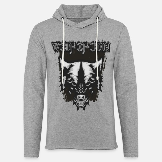 Germanic Tribes Hoodies & Sweatshirts - Wolf Of Odin - Unisex Sweatshirt Hoodie heather grey