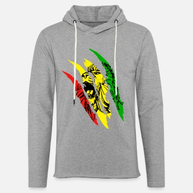 Dub Lion Of Judah Reggae Music Rastafarian Jamaica Lion - Light Unisex Sweatshirt Hoodie