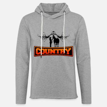 Country country - Sweat à capuche léger unisexe