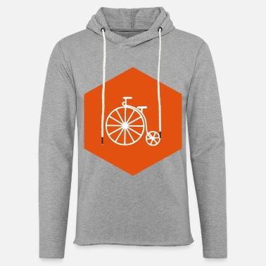 Penny HIPSTER PENNY FARTHING (v) - Sudadera ligera unisex con capucha