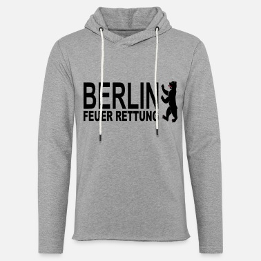 Bear Rescue Berlin fire rescue - Unisex Sweatshirt Hoodie
