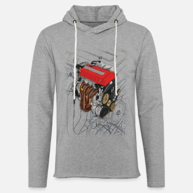 Touge B16 Engine - Light Unisex Sweatshirt Hoodie