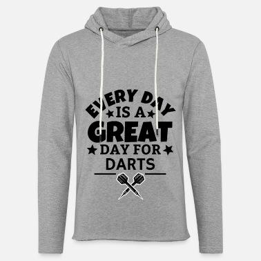 Bullseye Every day is a great day for darts - Unisex Sweatshirt Hoodie