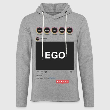 Instagram EGO - Light Unisex Sweatshirt Hoodie