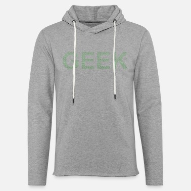 Wear GEEK WEAR - Sweat-shirt à capuche léger unisexe
