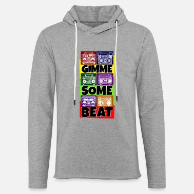 Breakdance Hip Hop Beat Deutschrap Breakdance DJ Graffiti MC - Kevyt unisex huppari