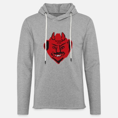 Devil Male The devil - Light Unisex Sweatshirt Hoodie