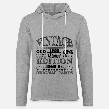 Vintage old school limited edition original parts - Unisex Sweatshirt Hoodie