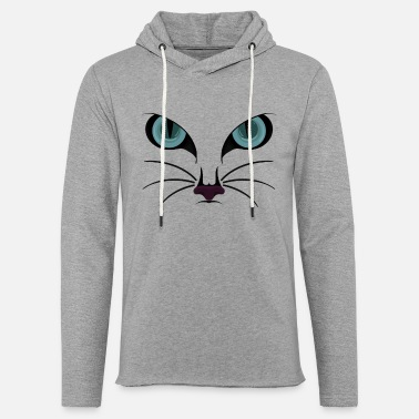 Cat Face Cat Face II / cat face - Light Unisex Sweatshirt Hoodie