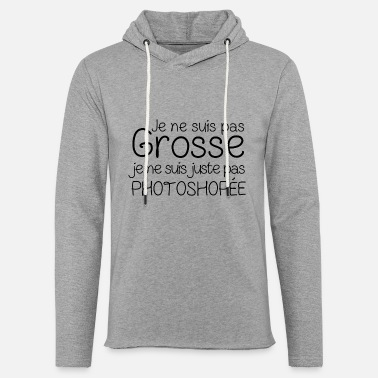 Photoshop photoshoper - Sweat-shirt à capuche léger unisexe