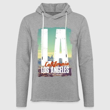 City of dreams - Sweat-shirt à capuche léger unisexe