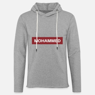 Mohamed Mohammed - Light Unisex Sweatshirt Hoodie