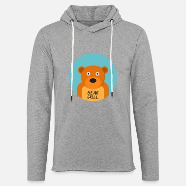 Officialbrands Bear Grill T-shirt - Lätt hoodie unisex