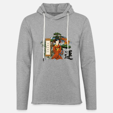 Cherry Blossom Honor of Japan - Light Unisex Sweatshirt Hoodie