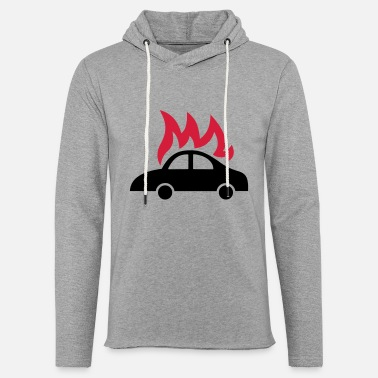 Fun burning car - Unisex Sweatshirt Hoodie