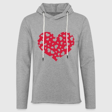 The Hundreds Hundreds Heart - Light Unisex Sweatshirt Hoodie
