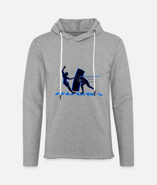 Stadium Hoodies & Sweatshirts - RUGBY TRAINING - Unisex Sweatshirt Hoodie heather grey