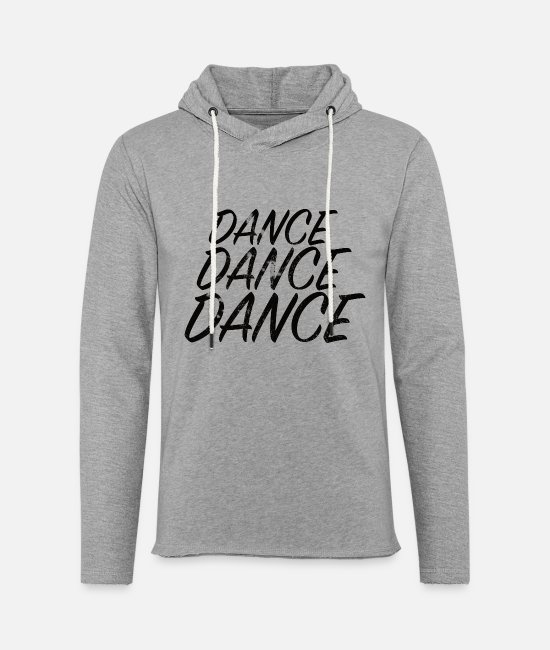 Motion Hoodies & Sweatshirts - DANCE DANCE DANCE - Unisex Sweatshirt Hoodie heather grey
