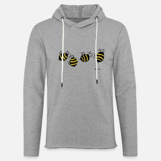Bee Hoodies & Sweatshirts - Ampparit - Unisex Sweatshirt Hoodie heather grey