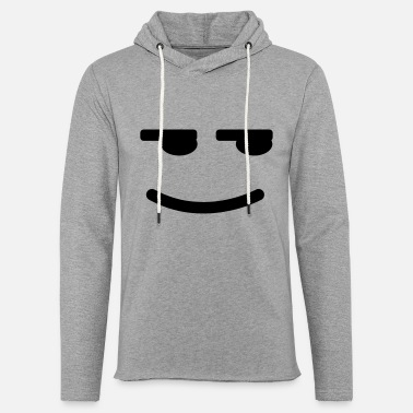 Satisfied Satisfied Smiley - Unisex Sweatshirt Hoodie