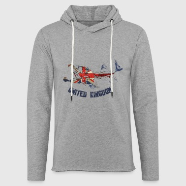 Uk SALMON uk - Light Unisex Sweatshirt Hoodie
