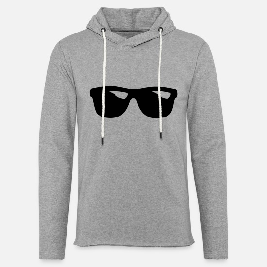 Sunglasses Hoodies & Sweatshirts - SHADES - Unisex Sweatshirt Hoodie heather grey