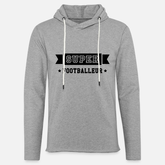 But Sweat-shirts - Football / Foot / Footballeur / Footballeuse - Sweat à capuche léger unisexe gris chiné