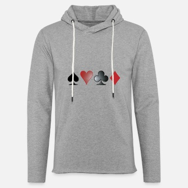 Playing Poker - Unisex Sweatshirt Hoodie