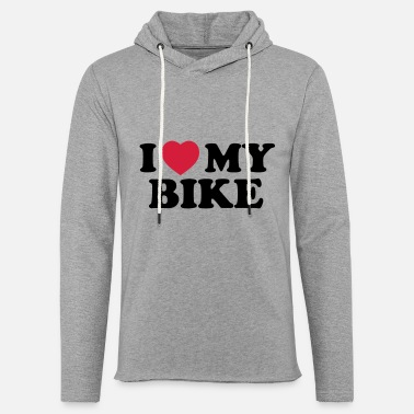 I Love I love my bike - Unisex sweatshirt hoodie