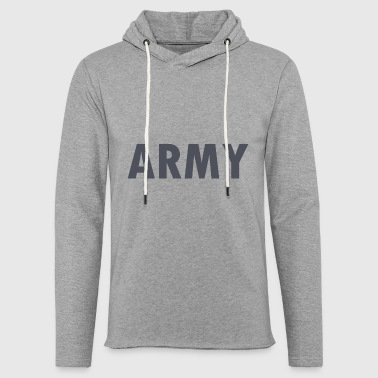 Army - Light Unisex Sweatshirt Hoodie