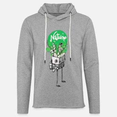 Nature in my mind - Leichtes Kapuzensweatshirt Unisex