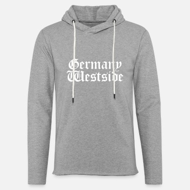 Westside Germany Westside simple White - Light Unisex Sweatshirt Hoodie