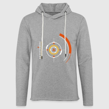 Seagull in sight - Light Unisex Sweatshirt Hoodie