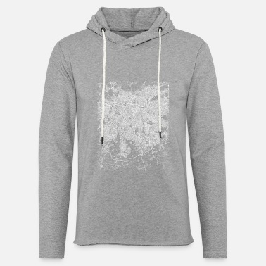 Set22 Minimal São Paulo city map and streets - Unisex Sweatshirt Hoodie