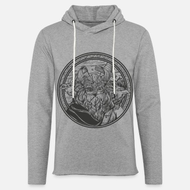 Germanic Tribes Odin with his ravens - Unisex Sweatshirt Hoodie