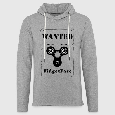 Fidget Spinner Face Wanted - Light Unisex Sweatshirt Hoodie
