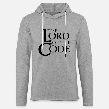Code The Lord of the Code - Lekka bluza z kapturem