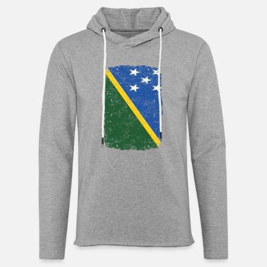 Love Hoodies & Sweatshirts - roots home country roots home Solomon Islands - Unisex Sweatshirt Hoodie heather grey
